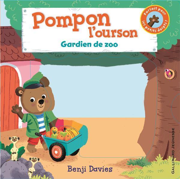 Pompon l'ourson ; gardien de zoo
