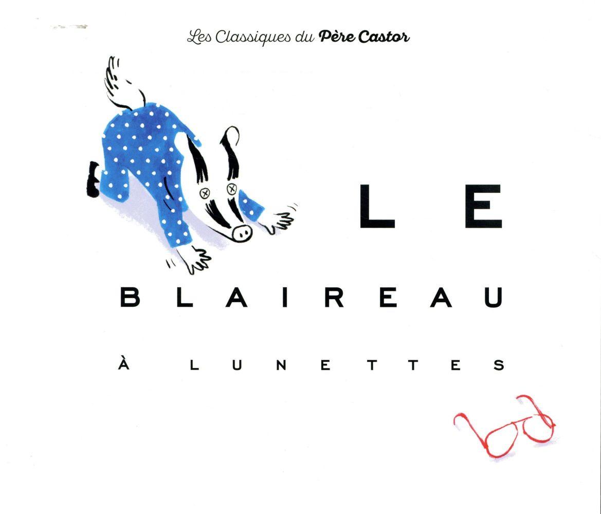 Le blaireau à lunettes