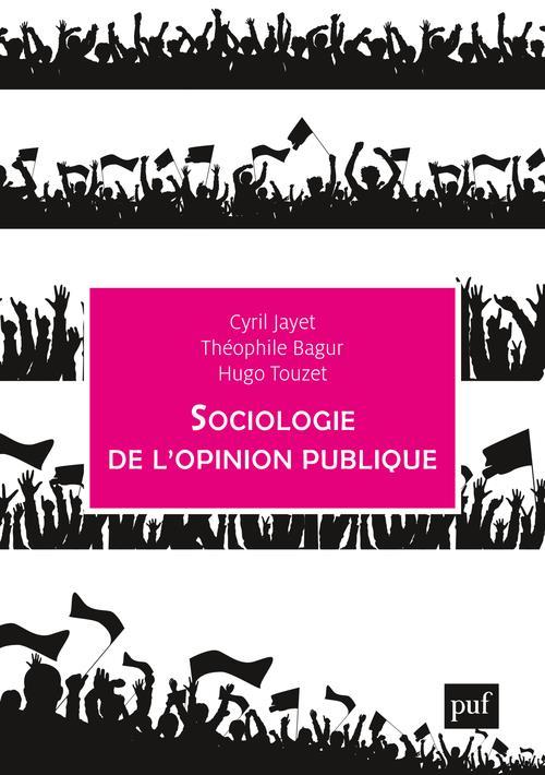 SOCIOLOGIE DE L'OPINION PUBLIQUE