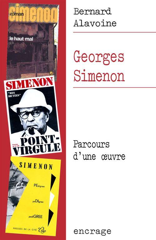 Georges Simenon, parcours d'une oeuvre
