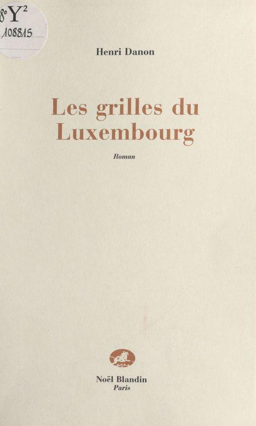 Les grilles du luxembourg