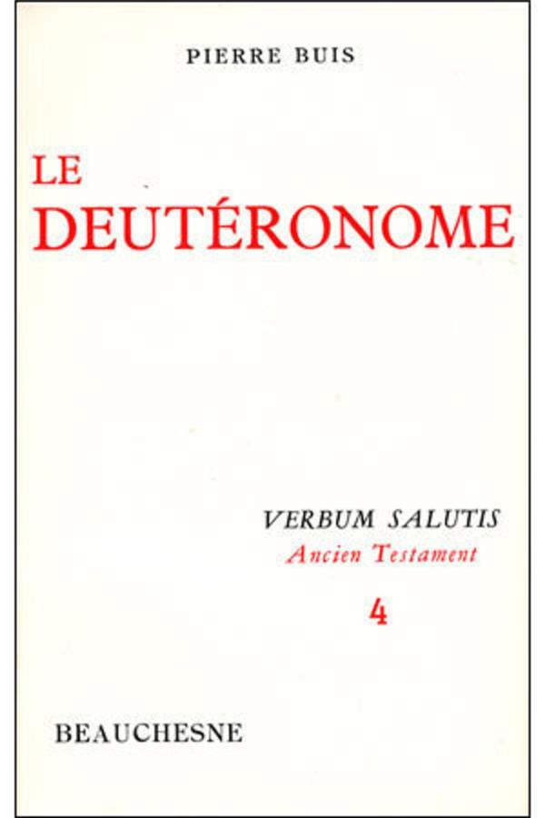 Le deutéronome