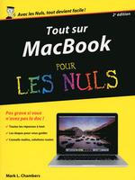 Vente Livre Numérique : Tout sur MacBook, Pro Air retina pour les Nuls, 2e édition  - Mark L. CHAMBERS