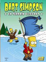 Couverture de Bart simpson t.2 ; en terrain glissant