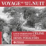 Vente AudioBook : Voyage au bout de la nuit  - Louis-ferdinand Céline