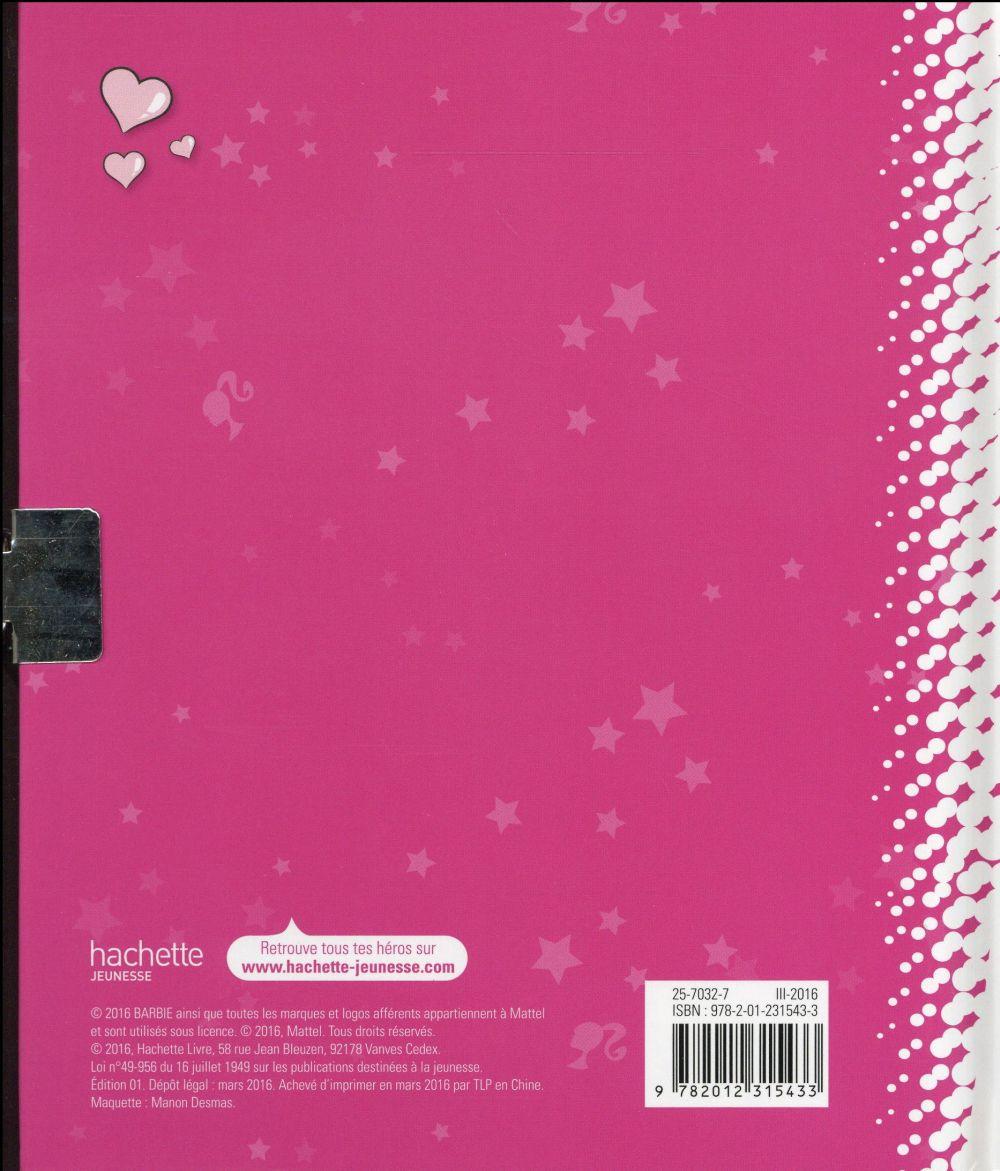 Barbie ; mon journal intime