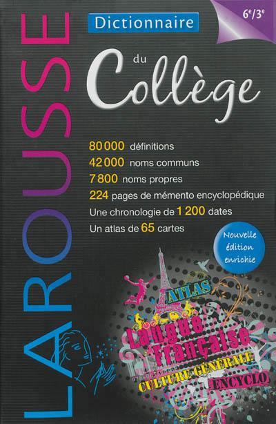 Dictionnaire du collège