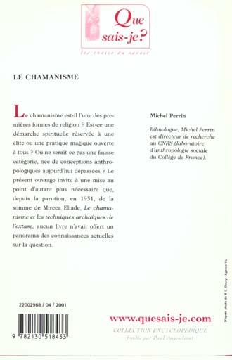 Chamanisme (3eme edition) (le)
