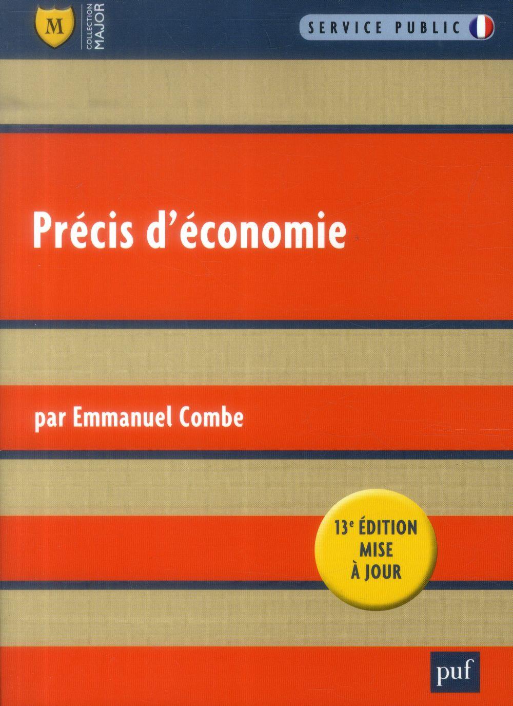 Precis D'Economie (13e Edition)