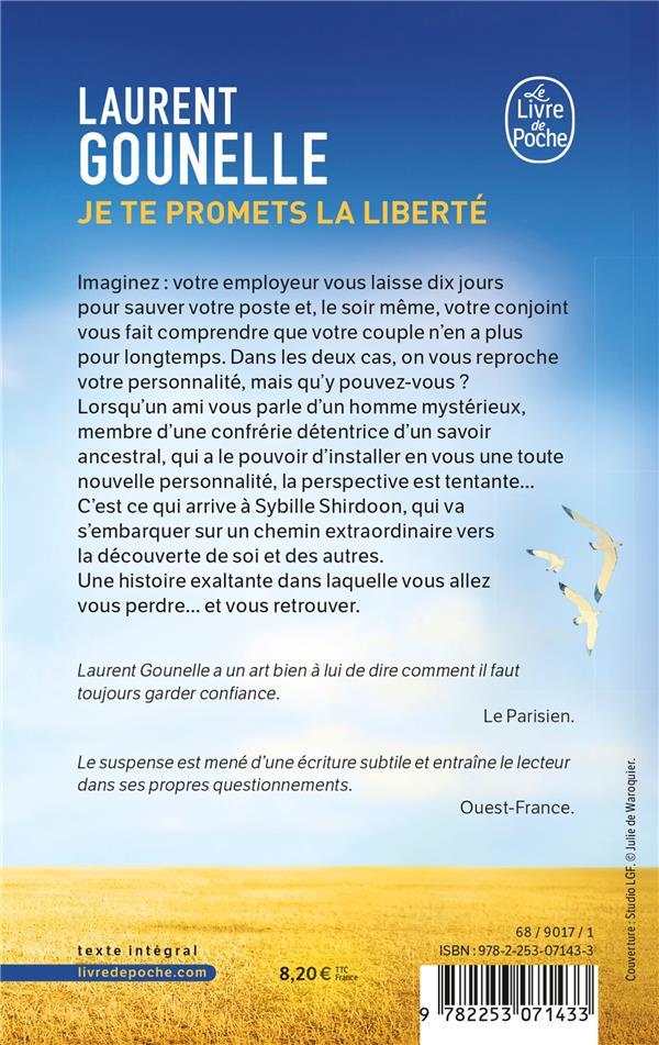 Je te promets la liberté