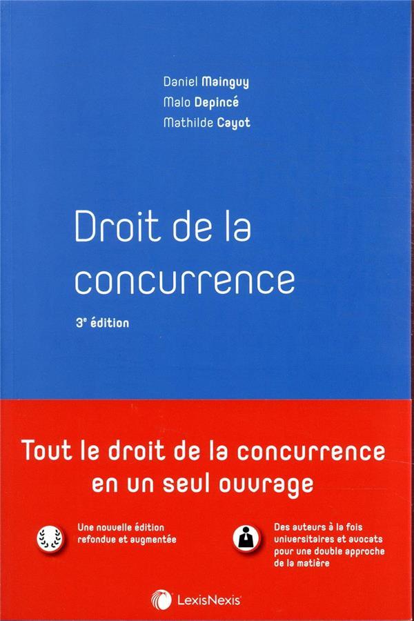 Droit de la concurrence (3e édition)