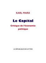 Vente EBooks : Le Capital  - Karl Marx