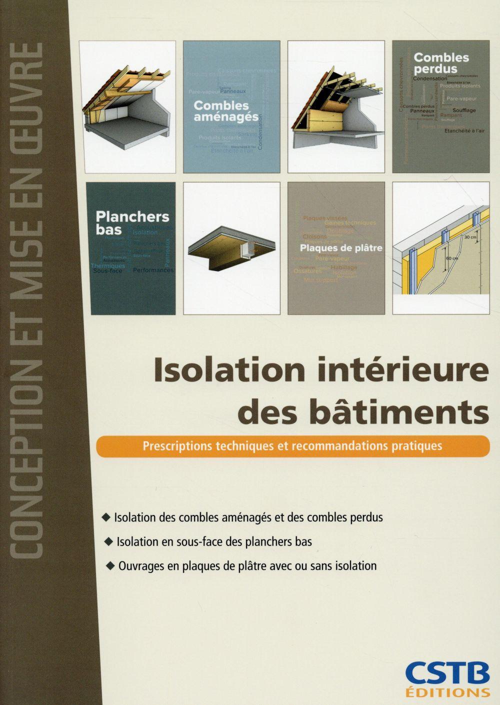 Isolation intérieure des bâtiments