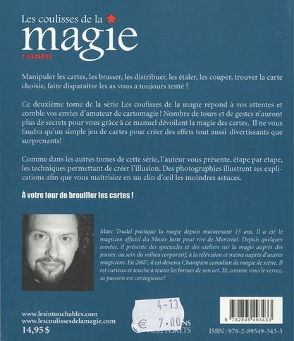 Les coulisses de la magie v02 les cartes