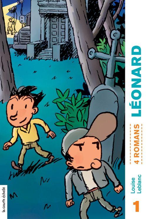 Leonard volume 01 (4 romans)