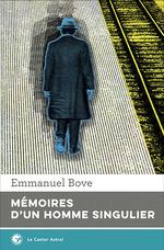 Vente Livre Numérique : Mémoires d'un homme singulier  - Emmanuel Bove