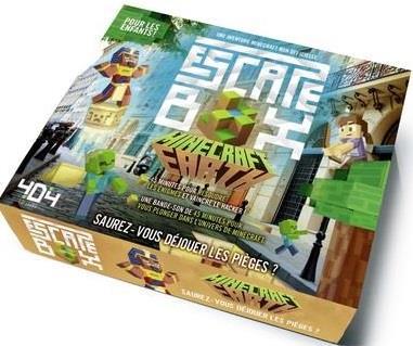 Minecraft ; escape box Minecraft Earth