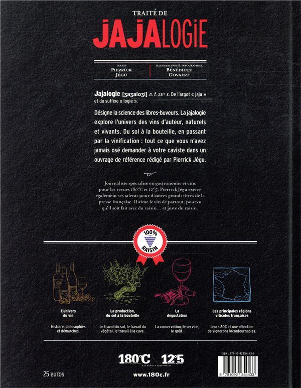 Traité de jajalogie ; le manuel indispensable des libres-buveurs