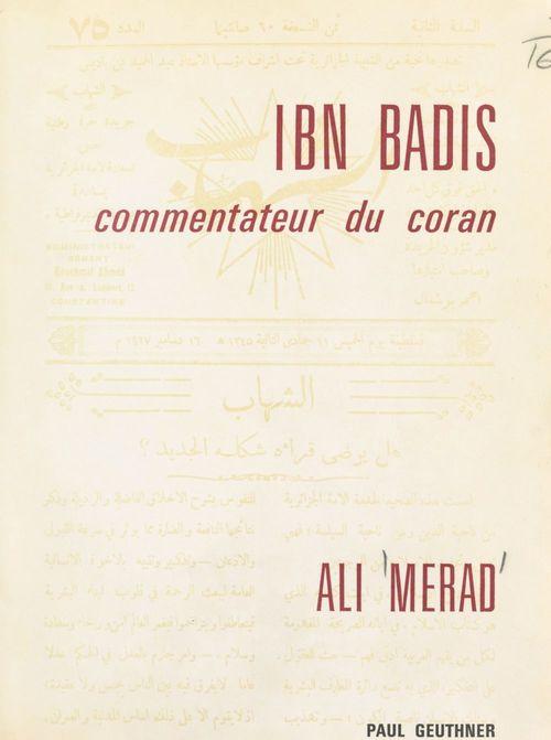 Ibn Badis, commentateur du Coran