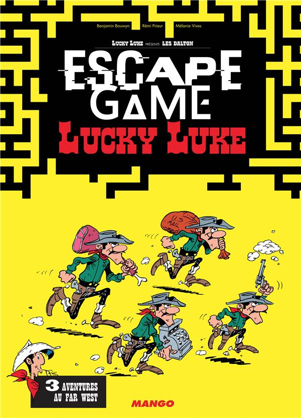 Escape game ; Lucky Luke ; 3 aventures au Far West