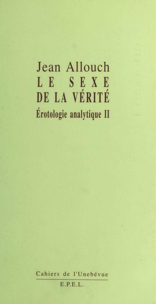 Le sexe de la verite