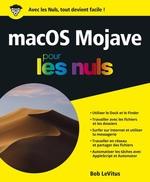 Vente Livre Numérique : MacOS Mojave pour les Nuls, grand format  - Bob LEVITUS