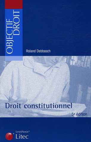 Droit constitutionnel (5e édition)