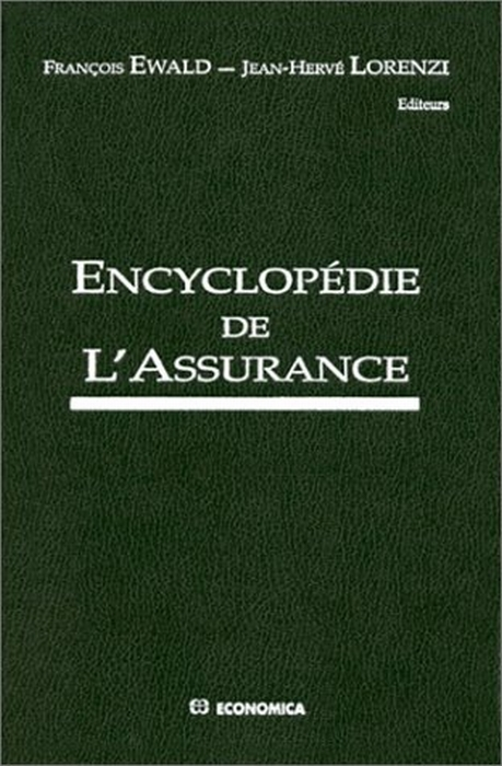 Encyclopedie De L'Assurance