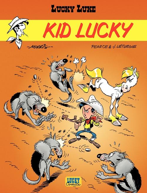 Lucky Luke T.33 ; kid Lucky