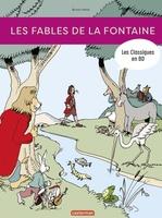 Vente Livre Numérique : Les Classiques en BD - Les Fables de La Fontaine  - Bruno Heitz