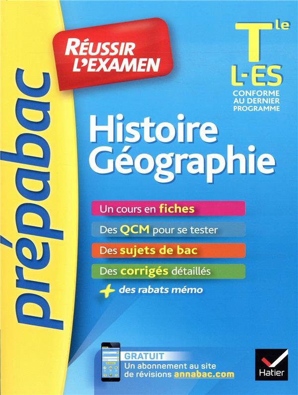 Prépabac ; histoire-géographie ; terminale L,ES
