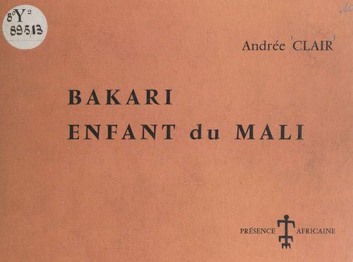 Bakari, enfant du Mali
