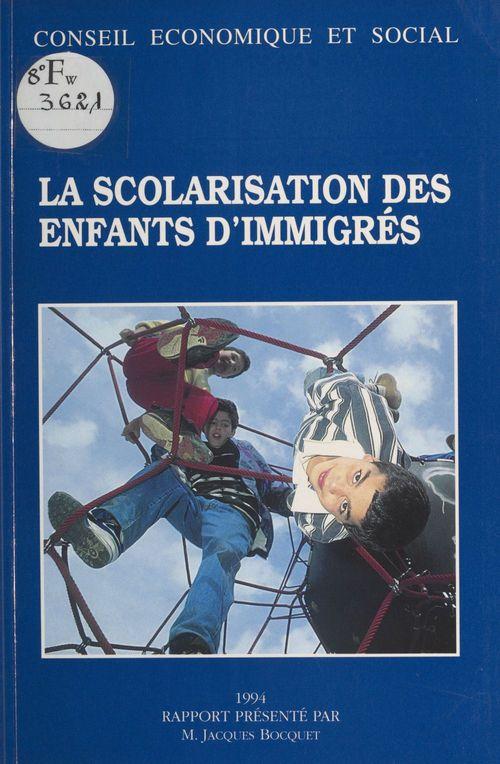 La Scolarisation des enfants d'immigrés