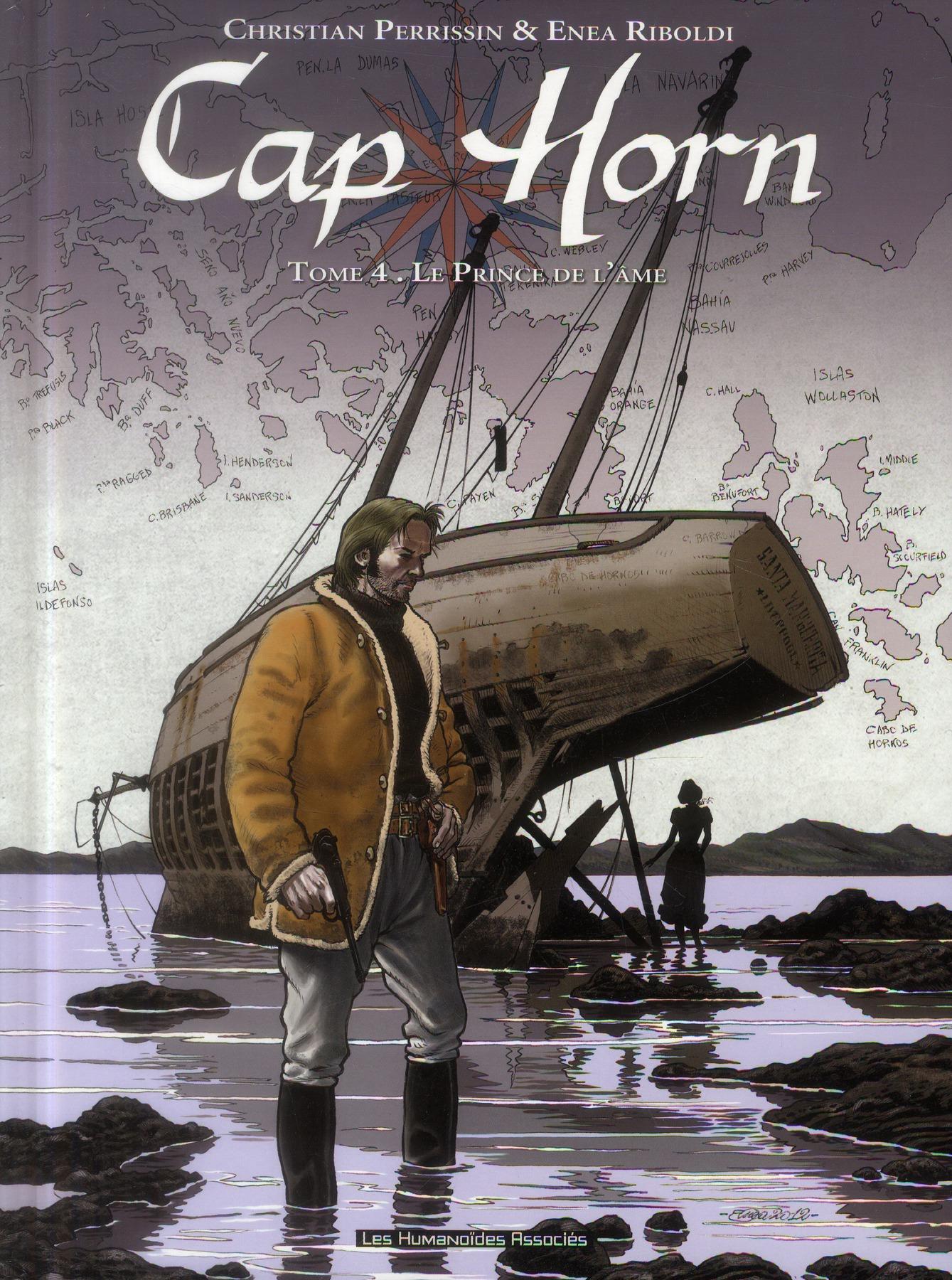Cap Horn t.4 ; le prince de l'âme