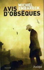 Vente EBooks : Avis d'obsèques  - Michel Embareck