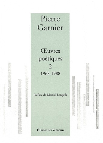 OEUVRES POETIQUES 1968 - 1988 TOME 2