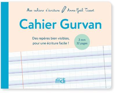 Cahier d'écriture Gurvan (édition 2020)