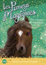 Couverture de Les poneys magiques t.8 ; en colonie de vacances