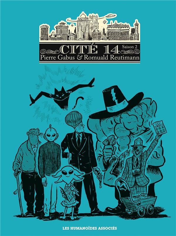 Cité 14 - saison 2 ; Intégrale t.1 à t.6