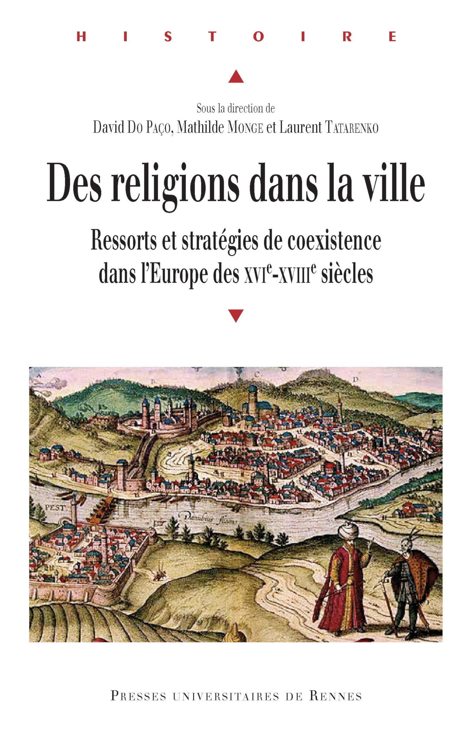 Des religions dans la ville  - Mathilde Monge  - Laurent Tatarenko  - David Do Paço