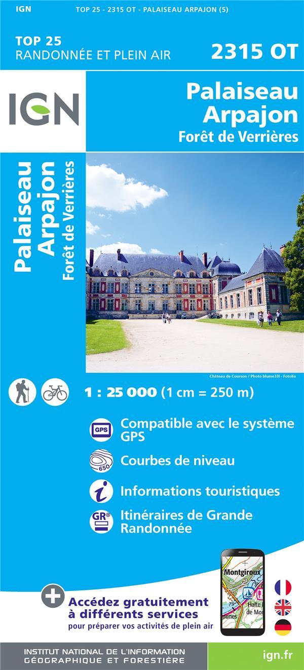 2315OT ; Palaiseau, Arpajon, Frêt de Verrières