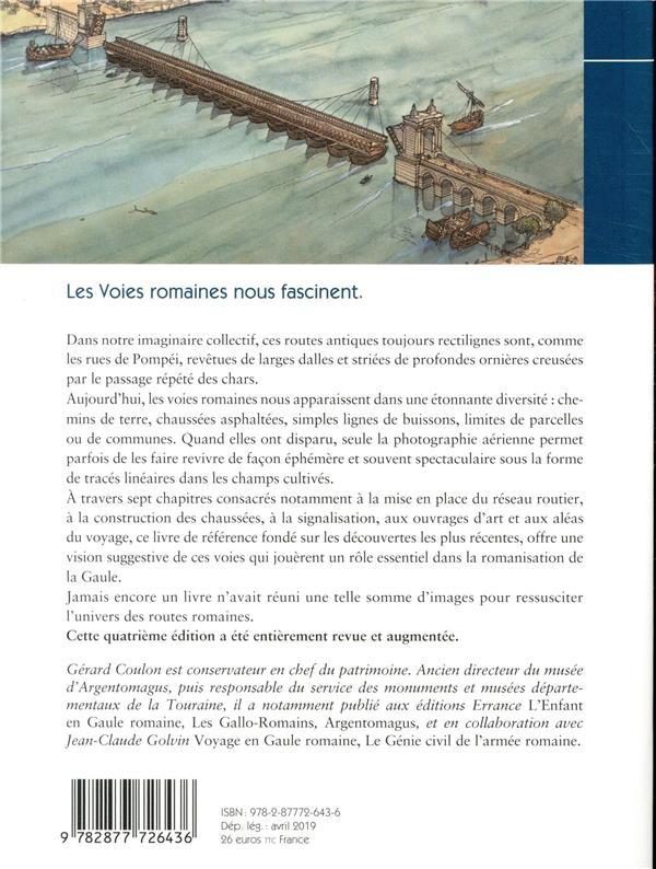 les voies romaines en Gaule (4e édition)