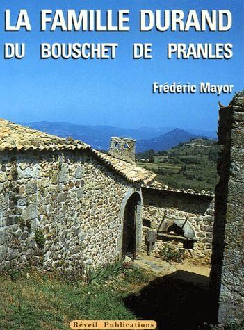 la famille Durand du Bouschet de Pranles