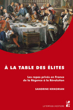 À la table des élites  - Krikorian S - Sandrine Krikorian
