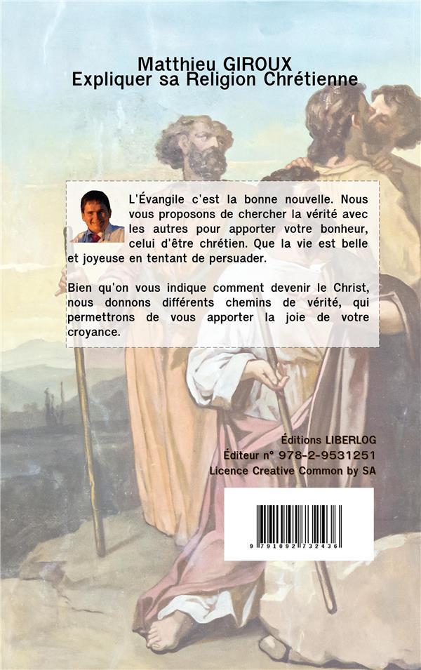 Expliquer sa religion chrétienne