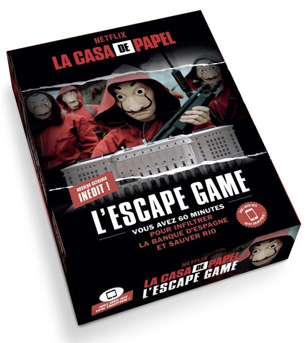 La casa de papel ; l'escape game