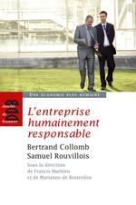 Vente Livre Numérique : L'entreprise humainement responsable  - Bertrand Collomb - Samuel Rouvillois