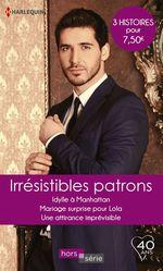 Vente Livre Numérique : Irrésistibles patrons  - Nicola Marsh - Jennie Adams - Trish Wylie