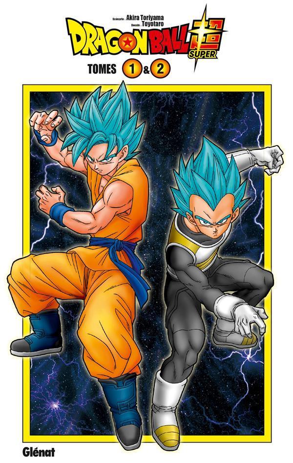 Dragon Ball Super ; coffret vol.1 ; t.1 et t.2