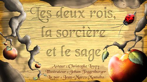 Vente AudioBook : Les deux rois, la sorcière et le sage  - Christophe Loupy